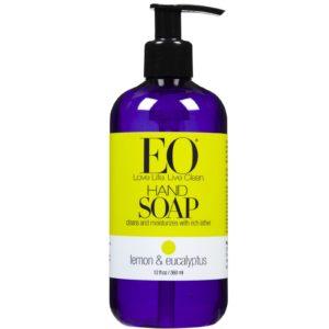 Eo Products Lemon & Eucalyptus Hand Soap (1x12 Oz)