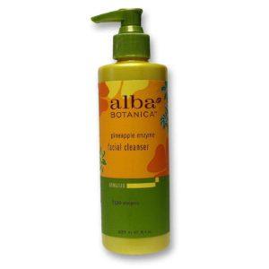 Alba Botanica Pineapple Enzyme Facial Cleanser (1x8 Oz)