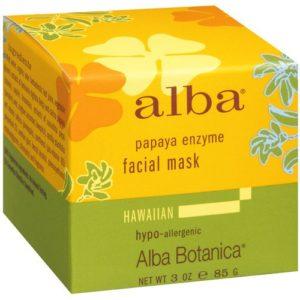 Alba Botanica Papaya Enzyme Facial Mask (1x3 Oz)