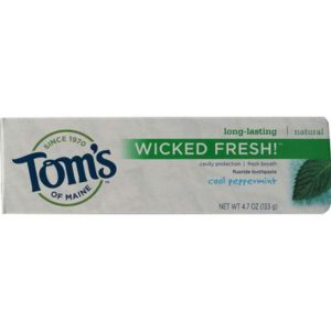 Tom's Of Maine Wicked Fresh! Peppermint Toothpaste (6x4.7 Oz)