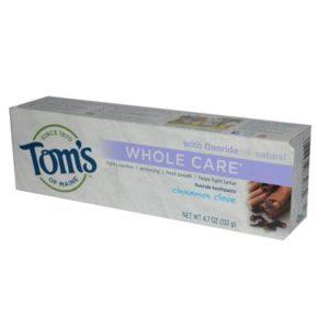 Tom's Of Maine Cinnamon Clove Whole Care Toothpaste (6x4.7 Oz)