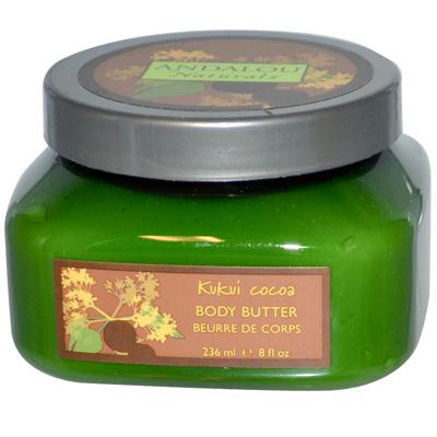 Andalou Naturals Kukui Cocoa Body Butter (1x8 Oz)