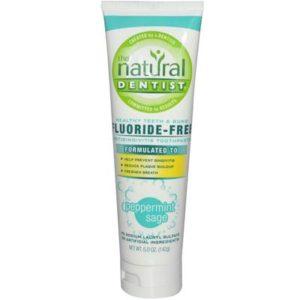 Natural Dentist Peppermint Sage Toothpaste Fluoride Free (1x5 Oz)