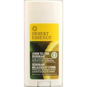 Desert Essence Lemon Tea Tree Deodorant (1x2.5 Oz)