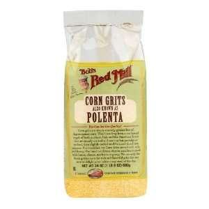 Bob's Red Mill Polenta Corn Grits Gluten Free (4x24 Oz)