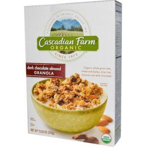 Cascadian Farm Dark Chocolate Almond Granola (6x13.25OZ )