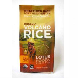 Lotus Foods Volcano Rice (6x15 Oz)