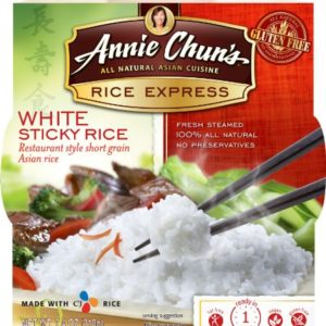 Annie Chun's Rice Express Sticky White Rice (6x7.4 Oz)