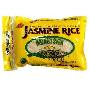 Golden Star Jasmine Rice (12x2LB )