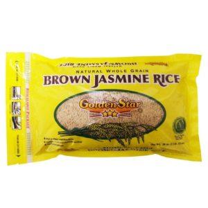Golden Star Jas Brn Rice (12x28OZ )