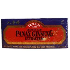 Imperial Elixir Panax Ginseng Vials (1x10 CT)