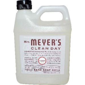 Mrs Meyers Liquid Hand Sp Refil Lavendar (6x33OZ )