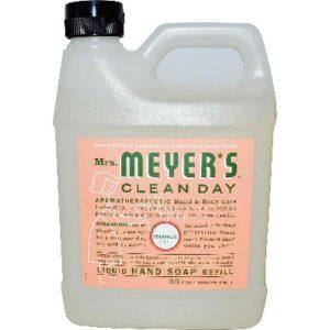 Mrs Meyers Liquid Hand Sp Refil Ger (6x33OZ )