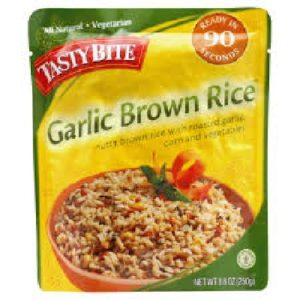 Tasty Bite Garlic Brown Rice (6x8.8OZ )