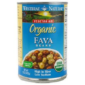 Westbrae Fava Beans (12x15OZ )