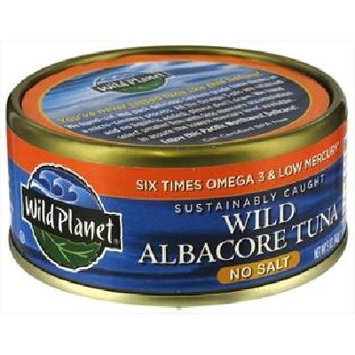 Wild Planet Wild Albcr Tuna Ns (12x3OZ )