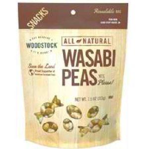 Woodstock Peas Wasabi Natural (8x7.5OZ )