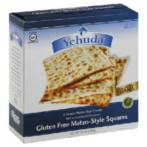 Yehuda Matzo Squares GF (12x10.5OZ )