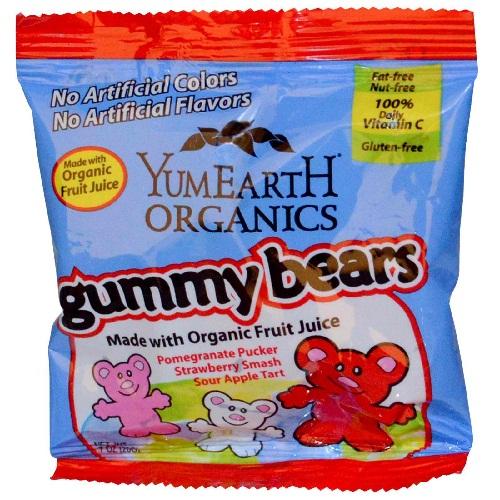Yummy Earth Gmy Bear Snk Pk (12x7OZ )