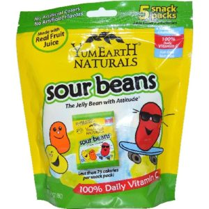 Yummy Earth Sour Jelly Beans (12x5Pack )