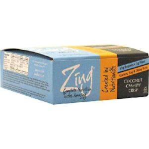 Zing Coconut Cashew Bar (12x1.76OZ )