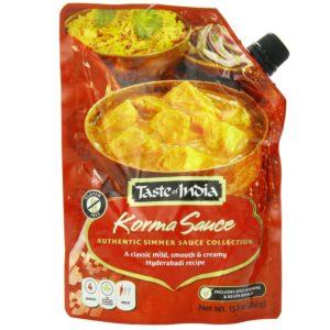Taste Of India Korma Sauce (6x15.8 OZ)