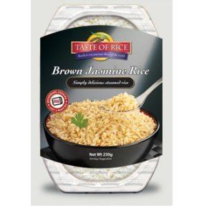 Taste Of Rice Brown Jasmine Rice (6x8.8 OZ)