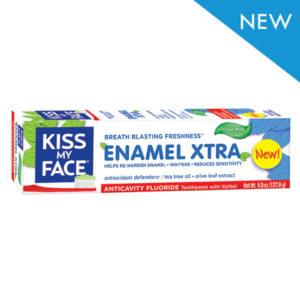 Kiss My Face Enamel Extra Gel Toothpaste  (1x4.5 OZ)