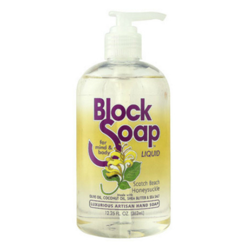 Blocksoap Scotch Beach Honeysuckle Liquid Soap (1x12.25 OZ)