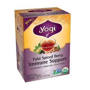 Yogi Tulsi Spiced Berry Immune Support Tea (6x16 BAG )