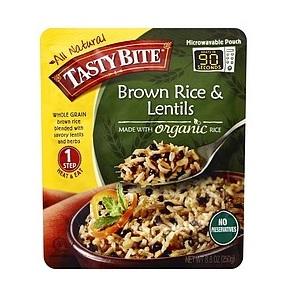Tasty Bite Brown Rice & Lentils (6x8.8 OZ)