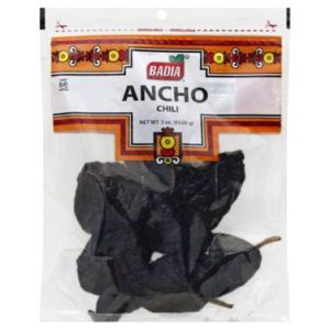 Badia Mexican Ancho Chili  (12x3 OZ)