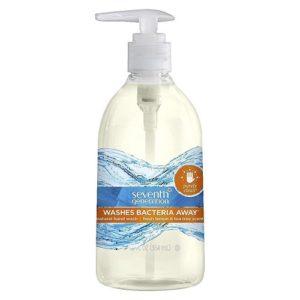 Seventh Generation Purely Clean Hand Wash, Fresh Lemon And Tea Tree (8X12 OZ)