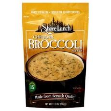 Shore Lunch Mix Soup Cheddar Broccoli (6x11Oz)