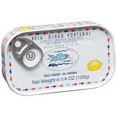 Bela Lightly Smoked Sardine Lemon Flavored Extra Virgin Olive Oil (12x4.25 Oz )