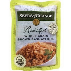 Seeds Of Change Rishikesh Whole Grain Brown Basmati Rice (12x8.5Oz)