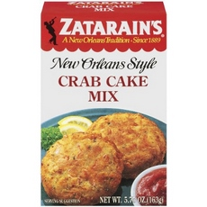 Zatarain's Seafood Cake Mixes, Crab Cake Mix (12x12/5.75 Oz)