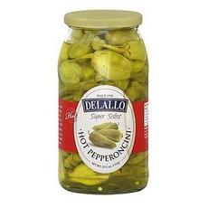 De Lallo Hot Pepperoncini (6x25.5Oz)
