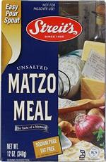 Streits Matzo Meal (18x12 Oz)