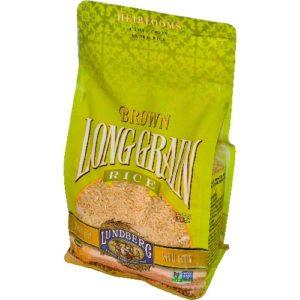 Lundberg Farms Long Grain Brown Rice (6x1 LB)