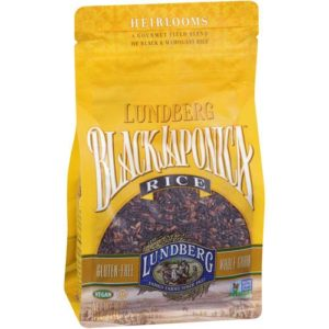 Lundberg Farms Black Japonica Rice (6x1 LB)