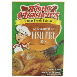 Tony Chachere's Seasoned Fish Fry Mix (12x10 Oz)