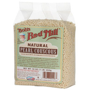 Bob's Red Mill Natural Pearl Couscous (4x16 Oz)