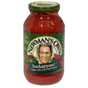 Newman's Own Sockarooni Pasta Sauce (12x24 Oz)