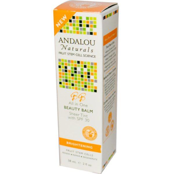 Andalou Naturals Beauty Balm Sheer Tint Spf 30 (1x2 Oz)