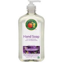 Earth Friendly Products Liquid Hand Soap, Lavender (6x17 Oz)