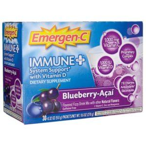 Alacer Emergen-C Citrus Immune+ (30 CT)
