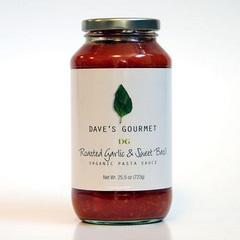 Dave's Gourmet Roasted Garlic & Sweet Basil (6x25.5 Oz)