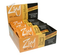 Zing Bars Chocolate Peanut Butter (12x1.7Oz)