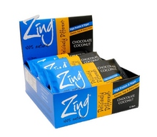 Zing Bars Chocolate Coconut Bars (12x1.76Oz)